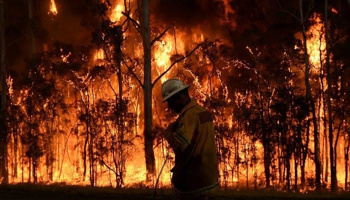 Bush Fire Emergency - Financial Help